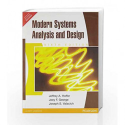 Modern Systems Analysis and Design-6th Edition by Hoffer Book-9788131761410