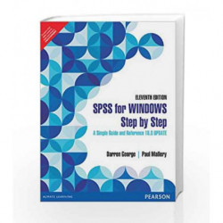 Spss for Windows Step by Step: A Simple Guide and Reference 18.0 Update by Darren George Book-9789332518124