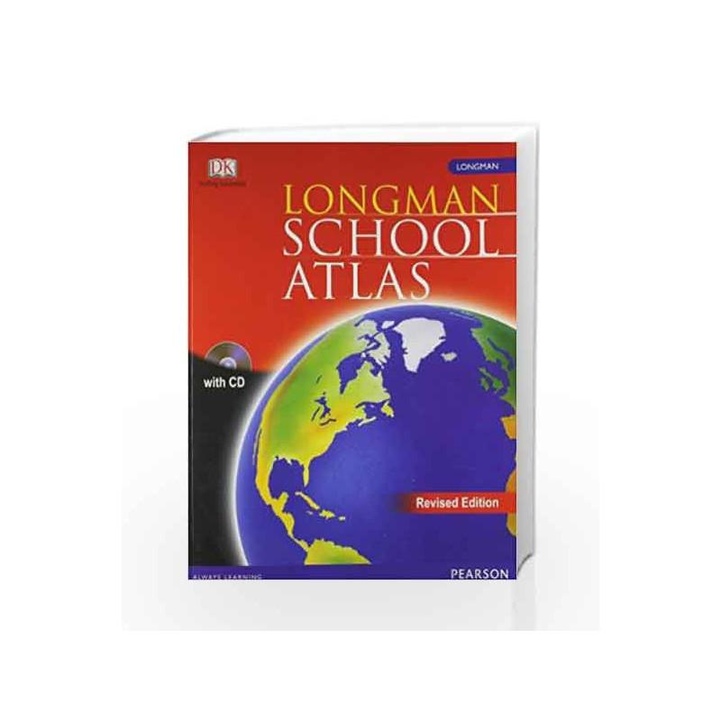 Longman School Atlas (Revised Edition) by Vipul Singh Book-9788131729076