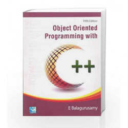 Object Oriented Programming With C++ by Balagurusamy Book-