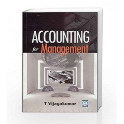 Accounting for Management by Vijaya Kumar Book-9780070090170