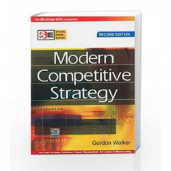 MODERN COMPETITIVE STRATEGY by Gordon Walker Book-9780070668201