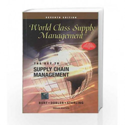 World Class Supply Management: The Key to Supply Chain Management by David Burt Book-9780070499331