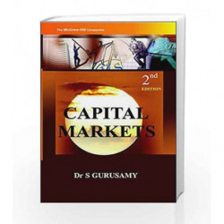 CAPITAL MARKET by S Gurusamy Book-9780070153301