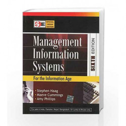 Management Information Systems by Stephen Haag Book-9780070668362
