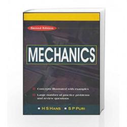 MECHANICS by H Hans Book-9780070473607
