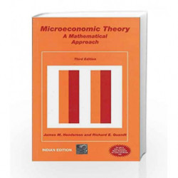 MICROECONOMIC THOERY 3/E by N/A Henderson Book-9780070582477