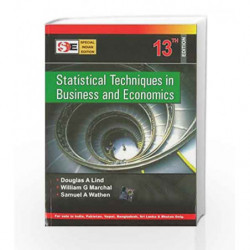 Statistical Techniques in Business and Economics with Student Cd (SIE) by Douglas Lind Book-9780070667075