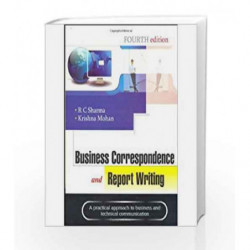 BUSINESS CORRESPONDENCE AND REPORT WRITING by SHARMA Book-9780070681989