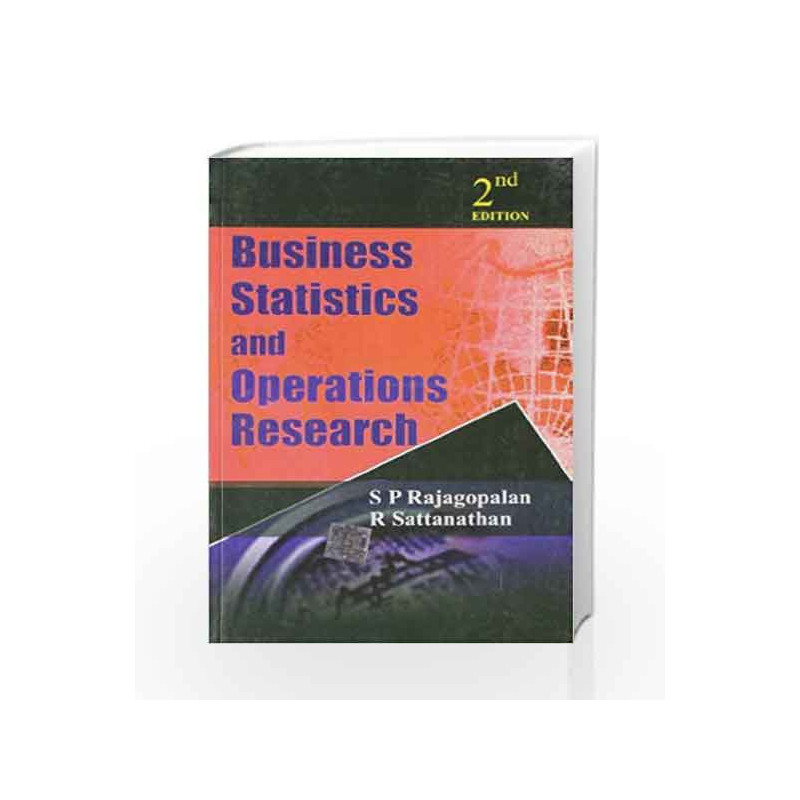 Business Statistics Operations Research 2nd Edition By S