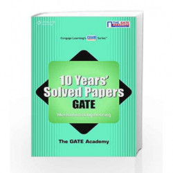 10 Years' Solved Papers GATE: Mechanical Engineering by The GATE Academy Book-9788131517253