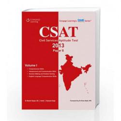 CSAT Paper II - Vol. 1 by Dr. Manish Ranjan Book-9788131518878