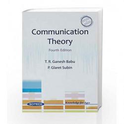 Communication Theory by Babu Ganesh Book-9788183715058