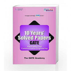 10 Year's Solved Papers GATE: Electronics and Communication Engineering by The Gate Academy Book-9788131517246