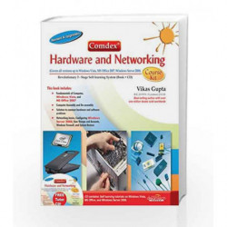 Comdex Hardware and Networking Course Kit, Revised and Upgraded by Vikas Gupta Book-9788177229219