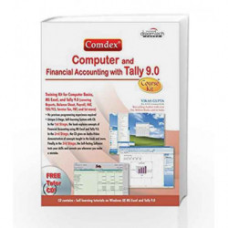 Comdex Computer and Financial Accounting with Tally 9. 0 by Vikas Gupta Book-9788177227390