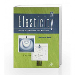 Elasticity - Theory, Applications and Numerics by Sadd Book-9789380931746