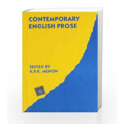 Contemporary English Prose by Menon K.P.K. Book-9780195607574
