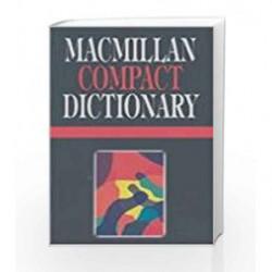 Macmillan Compact Dictionary by Dictionaries Book-9780333938966