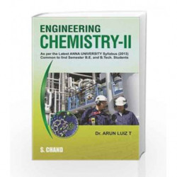 Engineering Chemistry-II (Anna University) by T. Arun Luiz Book-9789384857257
