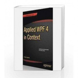 Applied Wpf 4 in Context by Garofale R Book-9788132203490