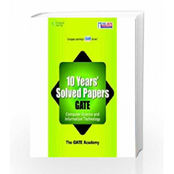 10 Years' Solved Papers GATE: Instrumentation Engineering: Computer Science and Information Technology