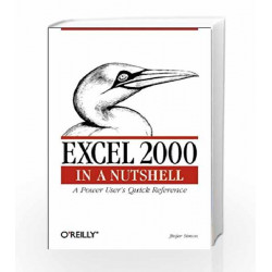 Excel 2000 in a Nutshell  Quick Reference