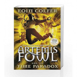 Artemis Fowl and the Time Paradox by Eoin Colfer Book-9780141322209