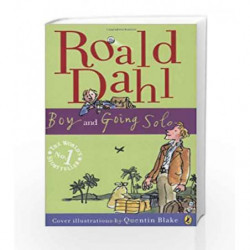 Boy and Going Solo by Roald Dahl Book-9780141322773