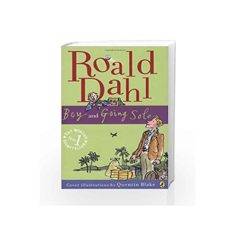 Boy And Going Solo By Roald Dahl Buy Online Boy And Going Solo Book