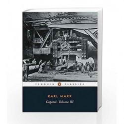 3: Capital by Karl Marx Book-9780140445701