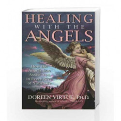 Healing with the Angels by Virtue, Doreen Book-9788190565578