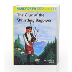 Nancy Drew 41: the Clue of the Whistling Bagpipes by Carolyn Keene Book-9780448095417