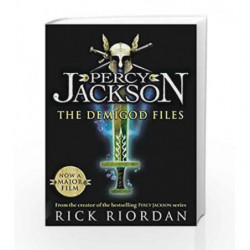 Percy Jackson: The Demigod Files by Rick Riordan Book-9780141329505