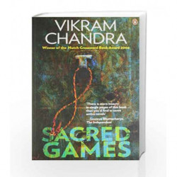 Sacred Games by Vikram Chandra Book-9780143063605