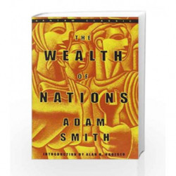 The Wealth of Nations by Adam Smith Book-9780553585971