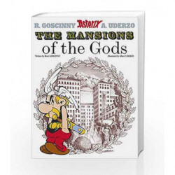 The Mansions of The Gods: Album 17 (Asterix) by GOSCINNY RENE Book-9780752866390