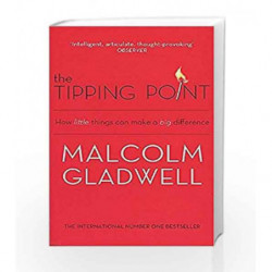 The Tipping Point: How Little Things Can Make a Big Difference by Malcolm Gladwell Book-9780349113463