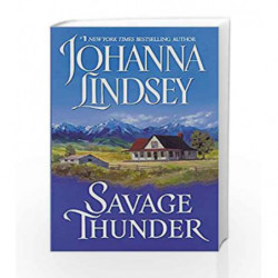 Savage Thunder (Wyoming-Western Series) by Johanna Lindsey Book-9780380753000