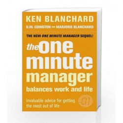 The One Minute Manager Balances Work and Life by Ken Blanchard Book-9780007182114