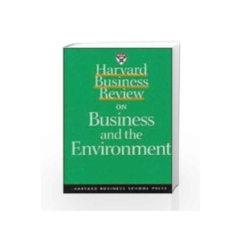 """Harvard Business Review on Profiting from Green Business (""""Harvard Business Review"""" Paperback) by NA Book-9781578512331"""
