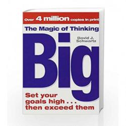 The Magic of Thinking Big by SCHWARTZ DAVID Book-9781416511557