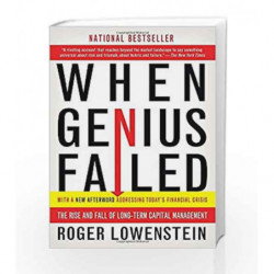 When Genius Failed: The Rise and Fall of Long-Term Capital Management by Roger Lowenstein Book-9780375758256