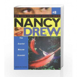 Nancy Drew #8 - The Scarlet Macaw Scandal by Carolyn Keene Book-9780689868443