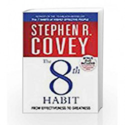 The 8th Habit: From Effectiveness to Greatness by Stephen R. Covey Book-9780743206839