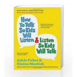 How to Talk So Kids Will Listen & Listen So Kids Will Talk by Adele Faber Book-9781848123090