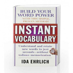Instant Vocabulary by EHRLICH IDA Book-9780671677275