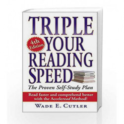 Triple Your Reading Speed: 4th Edition by Wade E. Cutler Book-9780743475761