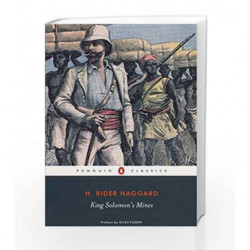 King Solomon's Mines (Penguin Classics) by H. Rider Haggard Book-9780141439525