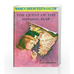 Nancy Drew 19: the Quest of the Missing Map by Carolyn Keene Book-9780448095196